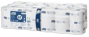 Tork Coreless Mid-Size Toilet Roll Advanced 2 Ply White, T7 (472199) - 17633